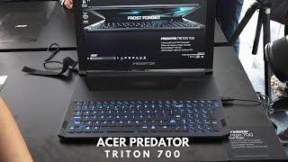 Acer Predator Triton 700 Hands-on