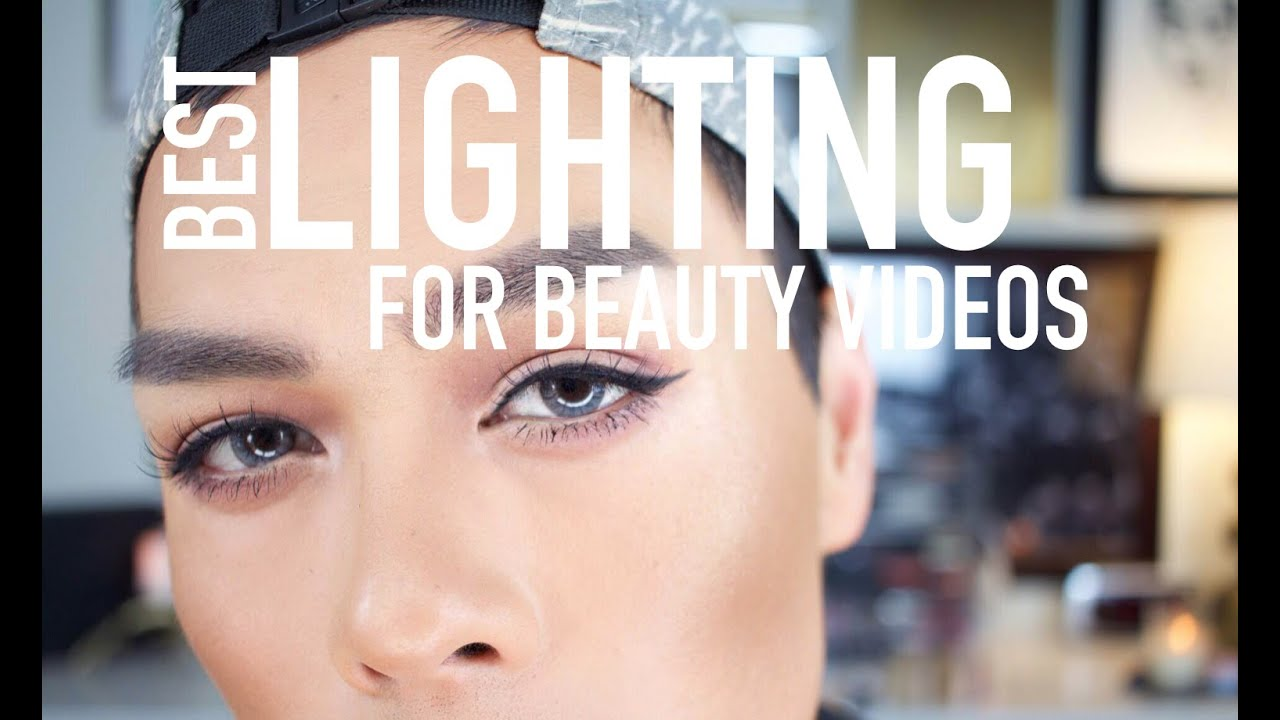 & THE BEST LIGHTING FOR YouTube u0026 BEAUTY VIDEOS - YouTube azcodes.com