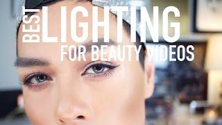 THE BEST LIGHTING FOR YouTube & BEAUTY VIDEOS