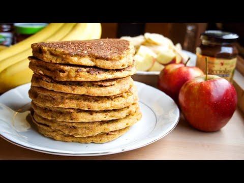 Healthy Whole Wheat Turmeric Pancakes ���� / Vegan + Oil-Free Recipe