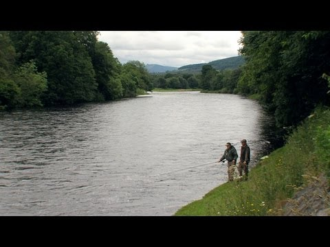 Salmon Fishing Crathes Castle Salmon Beat - Fishing TV