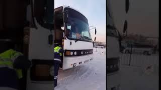 Автобус Красноярск Бишкек без тормозов