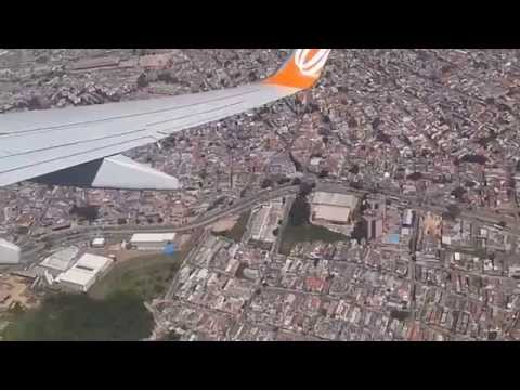 Sao Paulo from air - take off from Congonhas airport