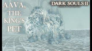 Aava, The Kings Pet Boss Fight | Dark Souls 2