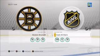 NHL 17 - All Teams - List | Overall (HD) [1080p60FPS]