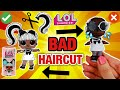 WE CUT HER HAIR OFF!! LOL SURPRISE HAIR GOALS DOLL GETS EXTREME MAKEOVER!! DIY L.O.L. Dolls NO HAIR!