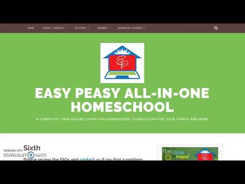 Easy Peasy All-in-One Homeschool Foreign Language