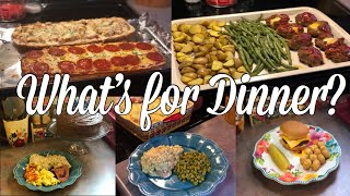 What's for Dinner?| Easy & Budget Friendly Family Meal Ideas| March 25-31, 2019