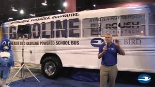 Blue Bird Gasoline Bus Reveal