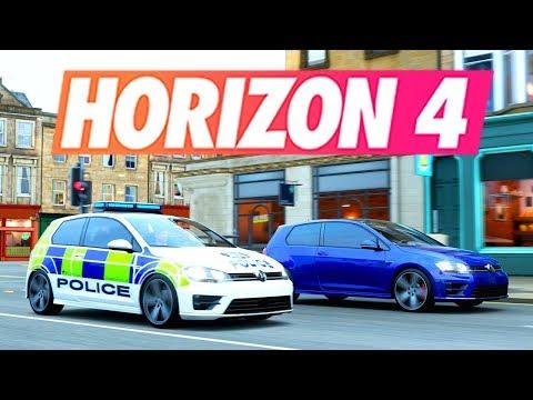 Forza Horizon 4 - POLICE VS VOLEUR RP & DERBY EN LIVE (Rediffusion) thumbnail