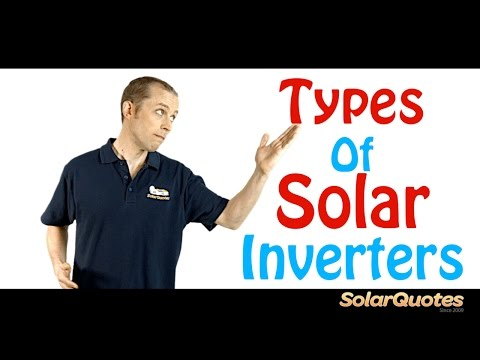 Different Types Of Grid Tie Inverters For Solar Power S