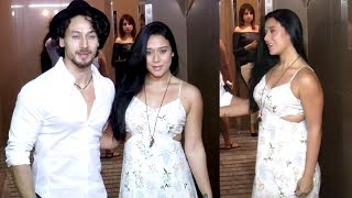 Tiger Shroff With Sister Krishna Shroff's First Video In Public