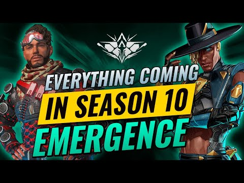 SEASON 10: EMERGENCE – EVERYTHING TO KNOW! (Apex Legends) Season 10 Trailer Breakdown in 60 seconds