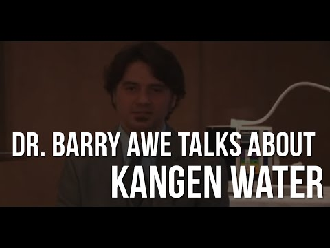 How The Body Works And Self Repairs - Dr  Barry Awe Talks About Kangen Water