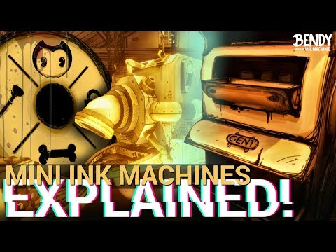 Bendy's Mysterious Mini Ink Machines EXPLAINED! (Bendy & the Ink Machine Theories)