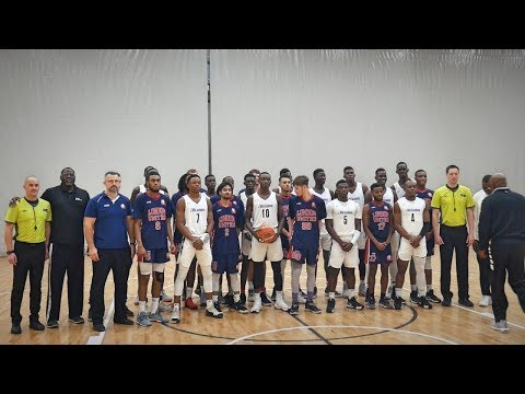 EYBL London United vs NBA Academy Africa! Game Highlights!