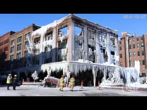 1-11-16 Omaha, NE; Ice Palace Extreme Cold