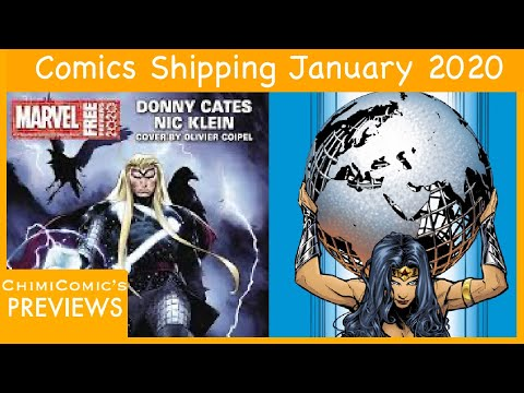 PREVIEWSWORLD Catalog For January 2020