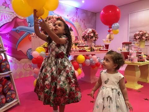 Festa Dumbo - O divertido aniversário da Alice