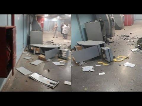 Bandidos EXPLODEM HOSPITAL em SP