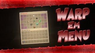 » Como fazer warp em menu! »Tutorial ChestCommands« Minecraft