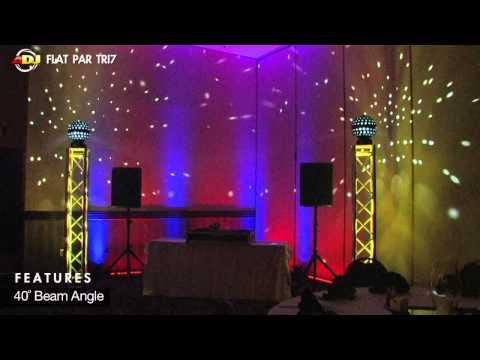 American DJ Flat Par Tri7