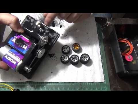 Part 2: Building a 1/24 scale slot car –  High Performance Hardbody Roller for Slot Car Racing
