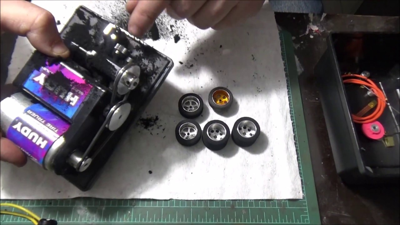 Part 2: Building a 1/24 scale slot car - High Performance Hardbody Roller  for Slot Car Racing