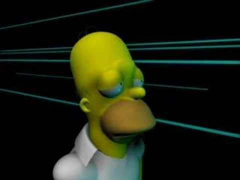 Homer Simpson 3D - YouTube