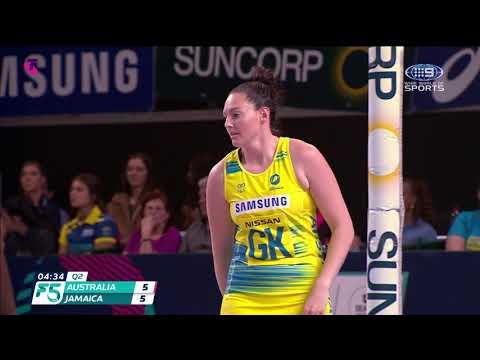 Australia V Jamaica | Fast5 Netball World Series 2018