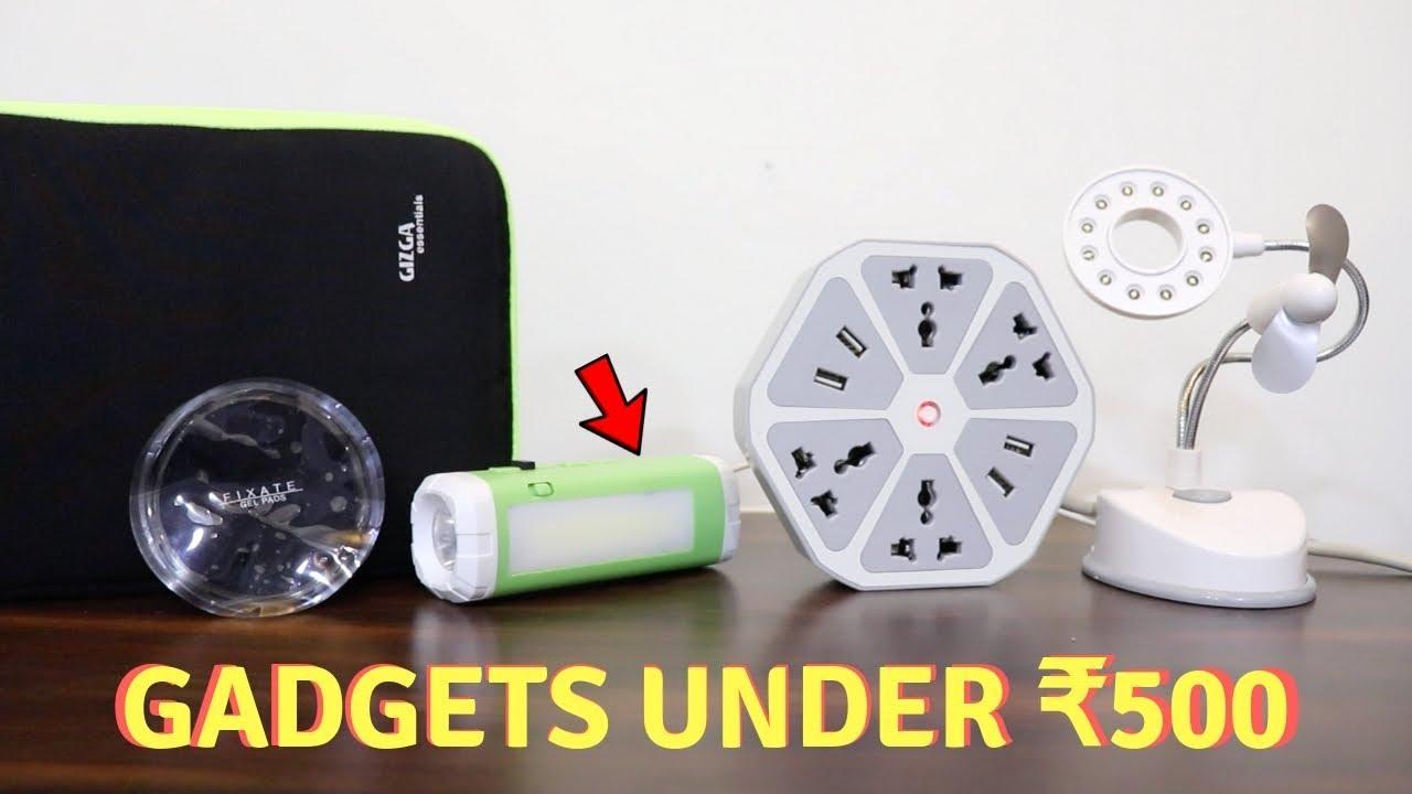 Unique Gadgets Under Rs500   Part 25   Tech Unboxing