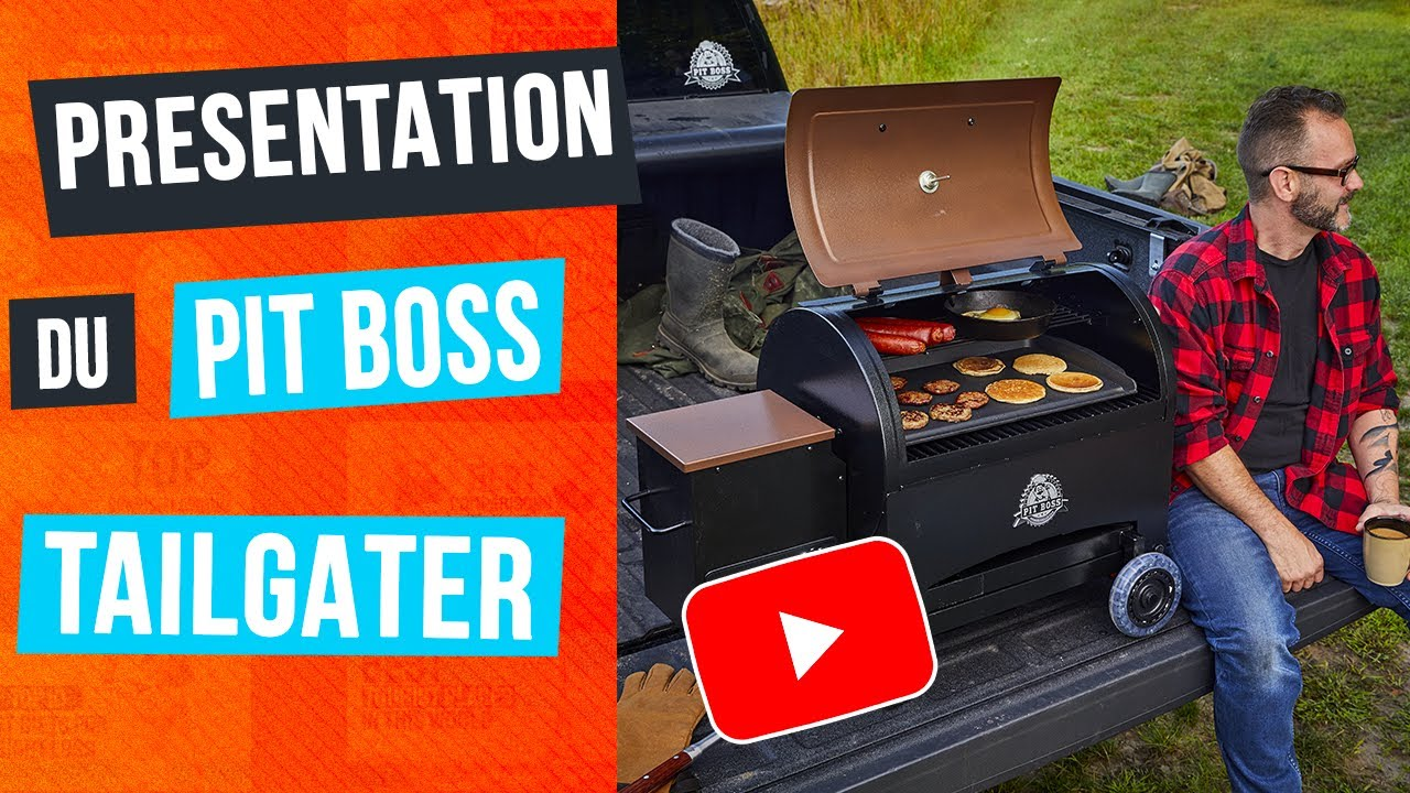 Barbecue & Co Feucherolles démonstration du pit boss tailgater + recette + nettoyage