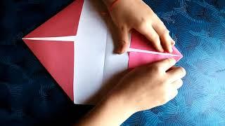 Как сделать классный кошелёк из бумаги -оригами.How to make a cool wallet out of paper -origami.