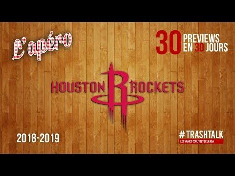 NBA Preview 2018-19 : les Houston Rockets
