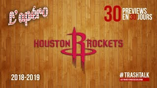 NBA Preview 2018-19 : les Houston Rockets