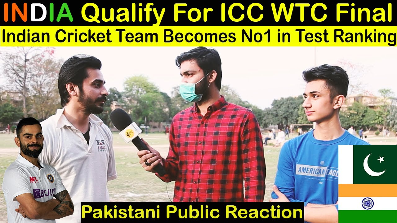 Pakistani Public Reaction on INDIA Qualify For ICC World TEST Championship Final