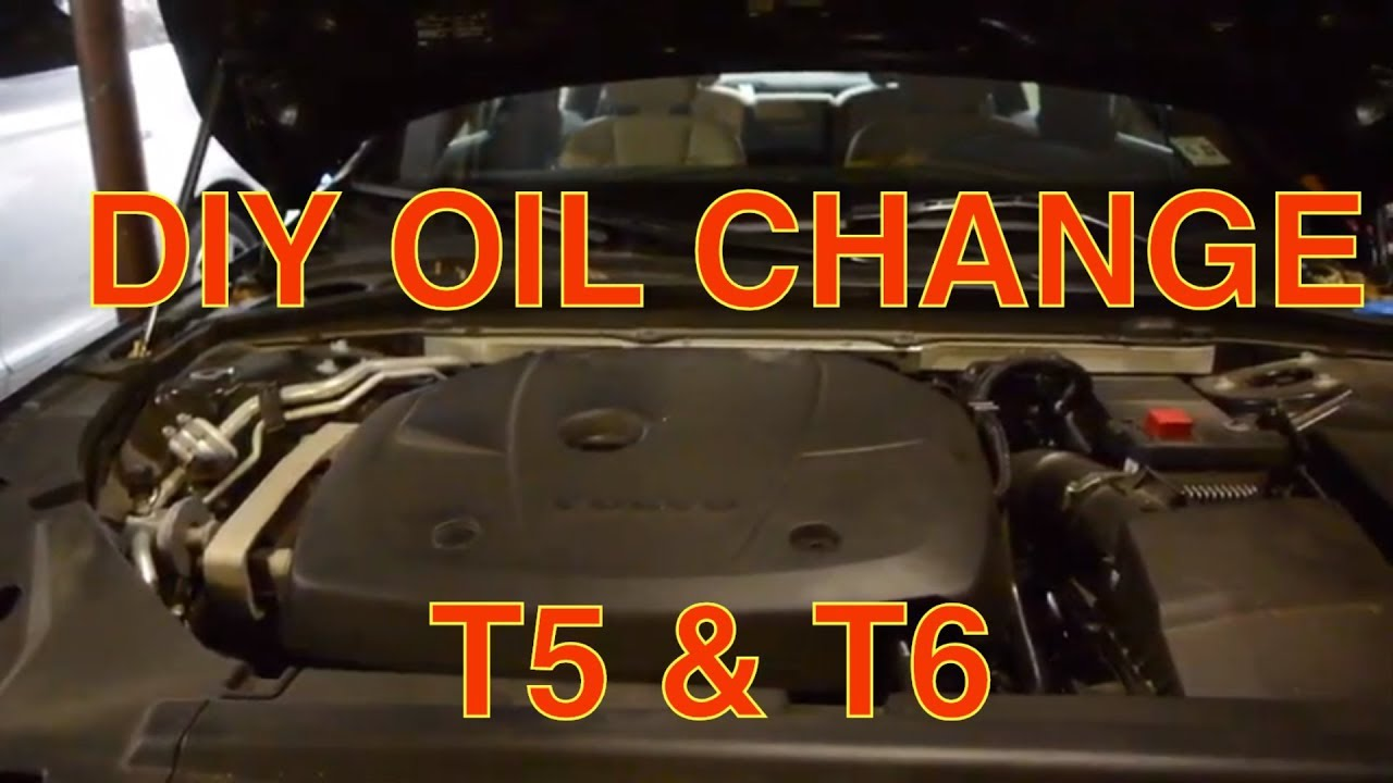 Volvo S60 T5 >> New Volvo 2.0 T5 T6 Complete Oil Change 2017-2020 S90 S60 XC40 XC60 XC90 V90 V60 - YouTube