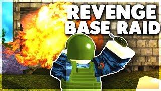 We Got REVENGE By RAIDING Their BASE (ROBLOX) Rust