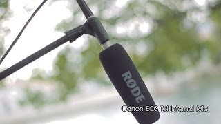 RODE NTG-3 Shotgun Microphone Review AND Test