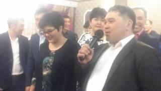Женщина взорвала зал тостом для молодоженов.... супер класс так держать ))