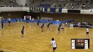 10日 ハンドボール女子 あづま総合体育館 Aコート 佼成学園×高水 決勝 3
