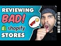 Shopify Store Review - The Good, The BAD, The UGLY!