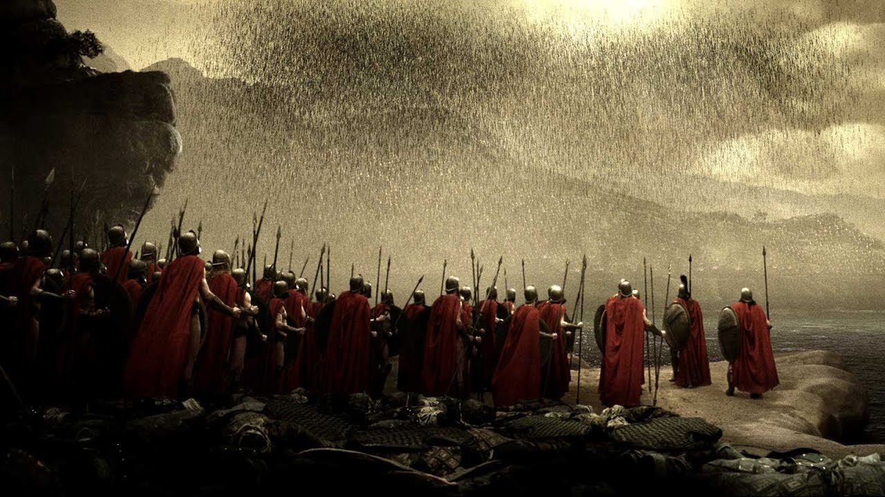 Download 300 (2006) - Hot Gates Battle (2/2) | Movieclips