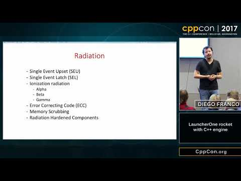 "CppCon 2017: Diego Franco ""LauncherOne rocket with C++ engine"""