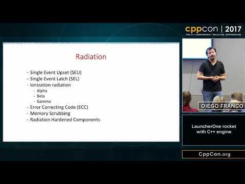 """CppCon 2017: Diego Franco """"LauncherOne rocket with C++ engine"""""""