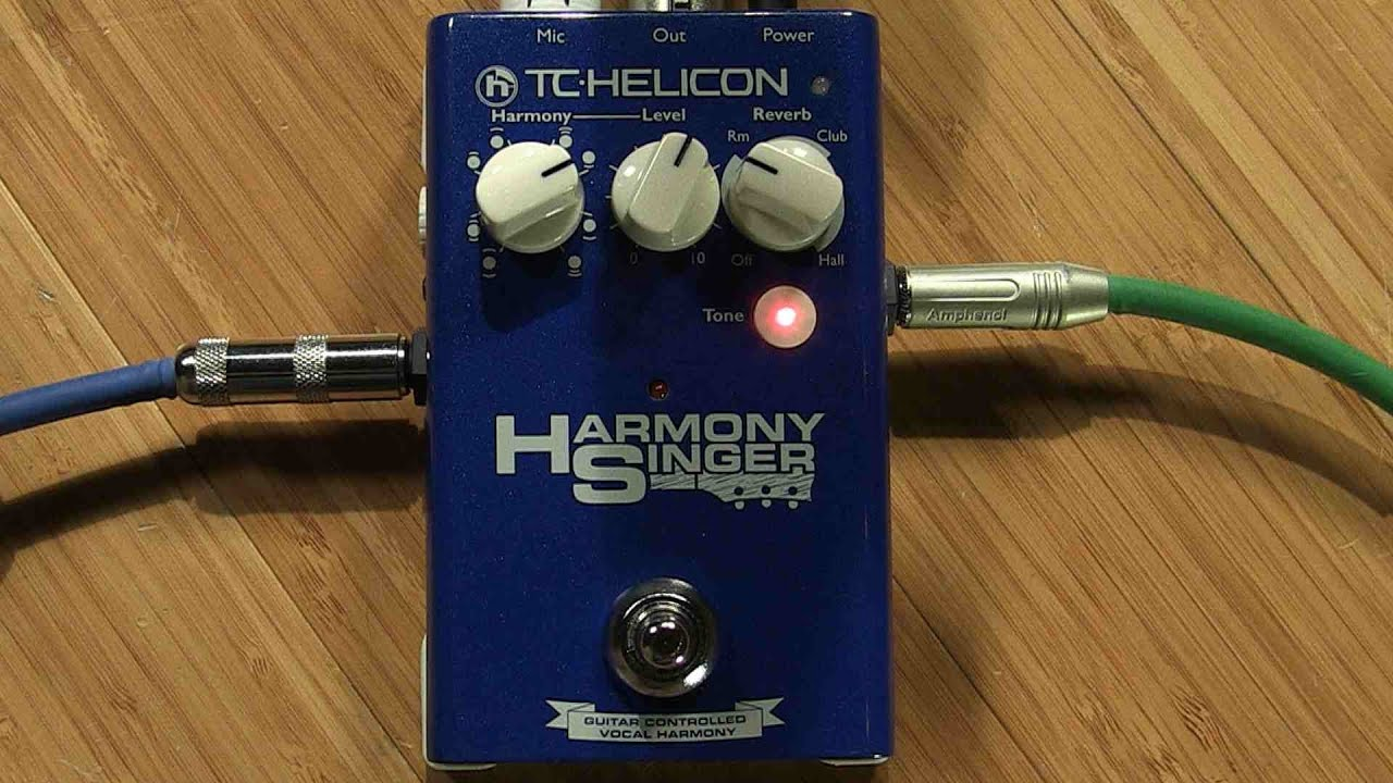 tc helicon harmony singer manual TC-Helicon Harmony Singer Vocal Harmony/Reverb Pedal - Sweetwater ...