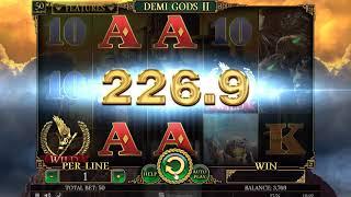 Игровой автомат Demi Gods II (Spinomenal)