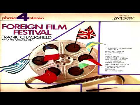Frank Chacksfield   Foreign Film Festival (1967) GMB