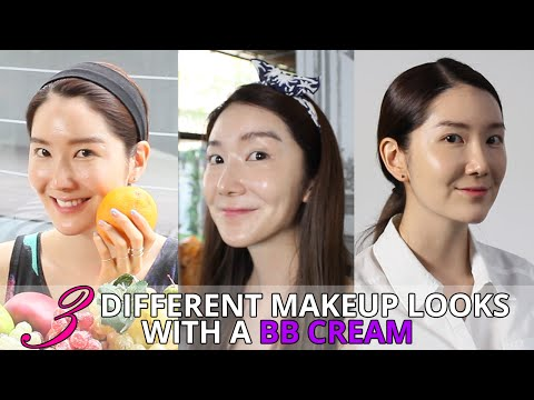 How To Wear BB Cream For 3 Different Makeup Looks | Wishtrend