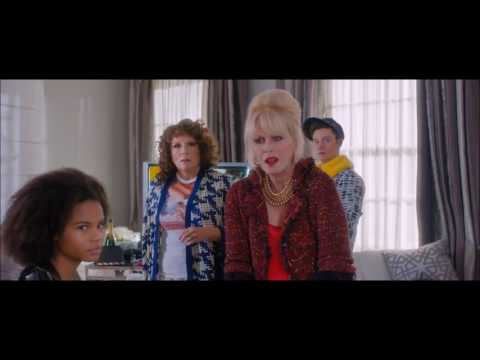 Chris Colfer in Absolutely Fabulous: The Movie (Part 2)
